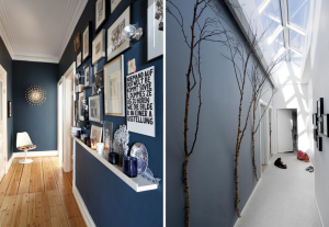 Ideas to decorate corridors