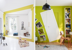Painted illusions in homes - BnbStaging the blog