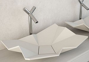 Origami sink from Eumar