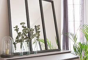 Loft-style mirror - BnbStaging le blog
