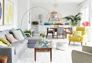 Colourful interior, 8decor - BnbStaging le blog