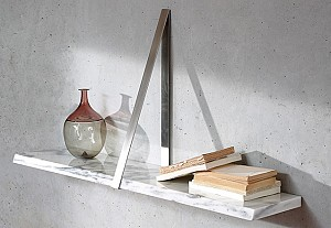 Shelf in marble material, Michael Anastassiades, coedition