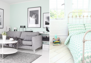 Mint green colour in interiors - BnbStaging the blog
